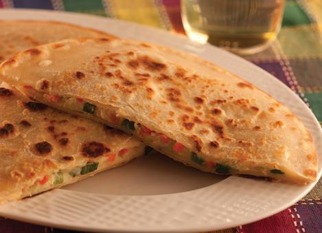 Healthy Vegetable Filled Parathas