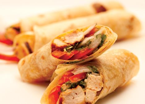 Kabab Chapatti Rolls