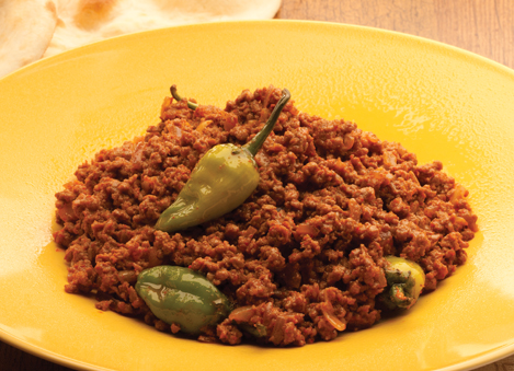 Mince with Green Chilies